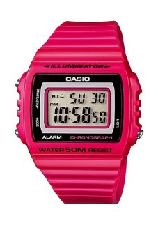 Casio Unisex Pink Resin Band Watch W-215H-4AVDF product preview, discount at cheapest price