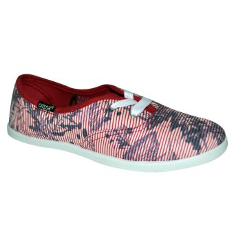 Crissa Steps Raiz Laced-Up Shoes (Red)