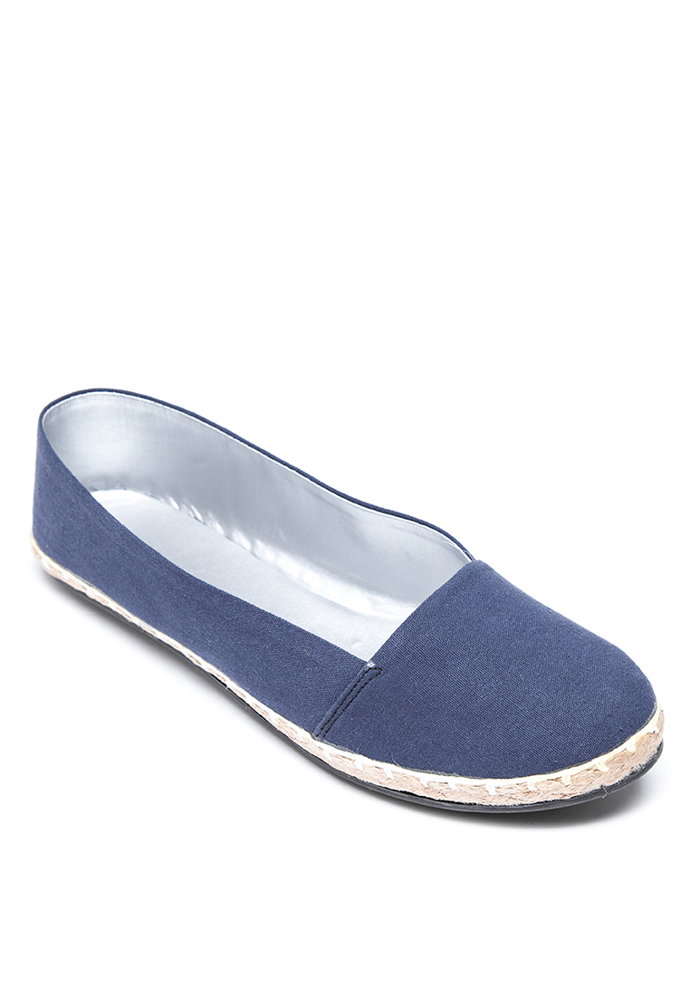 Cln shoes sandals philippines - Doll Me Up Shoes All Blued Espadrille Navy Blue