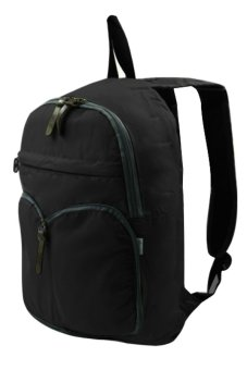 Durable Foldable Casual Backpack (Black)