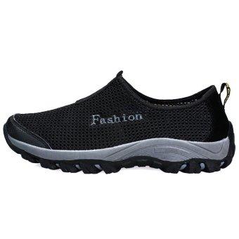 Fashion Men Shoes Low Cut Sneakers - Black - picture 2