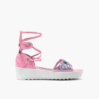 Frozen Girls Erina Wedge Sandals (Fuchsia)