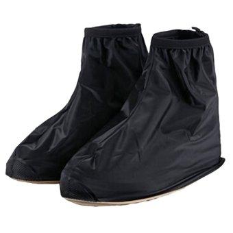 gracefulvara waterproof rain shoe covers black lazada ph