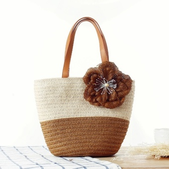 Brown Beach Bag for sale | Lazada Philippines