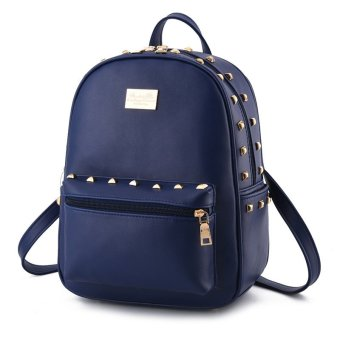 Dark Leather Backpacks for sale | Lazada Philippines