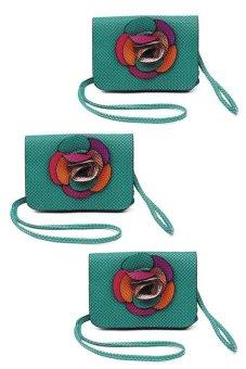 IRIS 1220 Crossbody Bag Set of 3 (Green) - picture 2