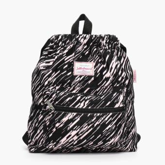 Jellybeans Ladies Diagonal Backpack (Black)