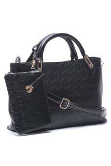Jewelmine Lawrence Top-Handle Bag (Black) - picture 2