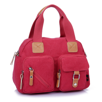 Korean-style New style messenger bag small bag (Red 1001)