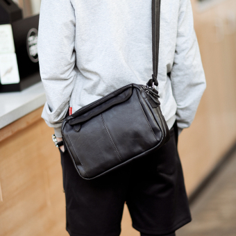 Korean-style simple small bag men's bag