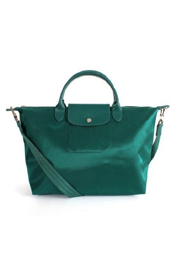 Longchamp Le Pliage Neo Tote Bag Emerald (Green)