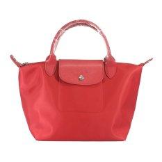 Longchamp Neo Le Pliage Small Tote Bag (Poppy)