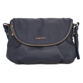 Mango Pebbled Crossbody Bag (Blue) - picture 2
