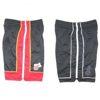 miami heat basketball jersey short black white set of 2 lazada ph