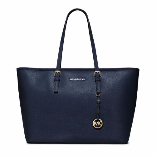 michael kors mc book tote bag navy. Black Bedroom Furniture Sets. Home Design Ideas