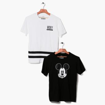 Mickey Mouse 2-piece Teens Graphic Tee Set (M)
