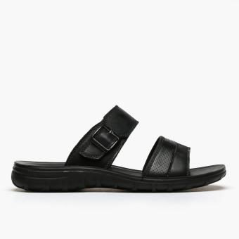 Milanos Mens Errol Sandals (Black)