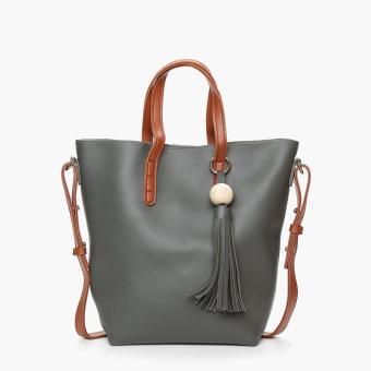 Parisian Ladies Nita Tote Bag (Gray)