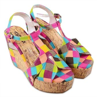 Rydax Florence Wedge Sandals (Multicolor)