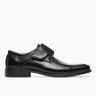 Salvatore Mann Inlet Monkstrap School Shoes (Black)