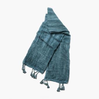 SM Accessories Ladies 401519 Tie-Dye Shawl (Teal)