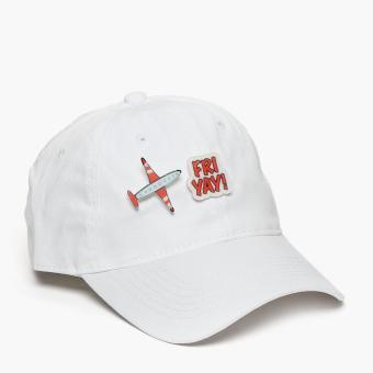 SM Accessories Ladies Baseball Cap (White)