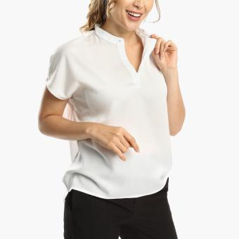 SM Woman Career High-Low Blouse (White)