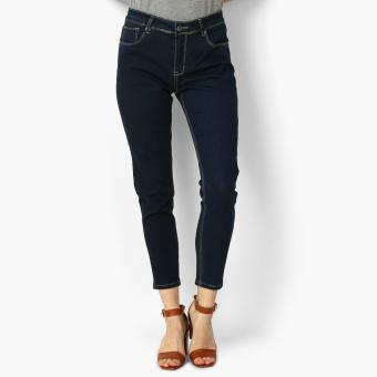 SM Woman Skinny Jeans (Dark Blue)