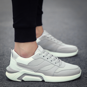 Sports autumn New style men shoes (Gray)