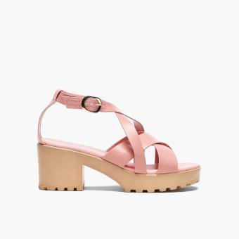 Sugar Kids Girls Dalla Block-heel Sandals (Light Pink)