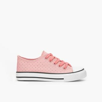 Sugar Kids Girls Farah Sneakers (Light Orange)