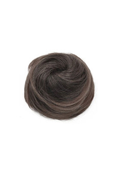 Synthetic Fiber Hair Bun (Dark Brown) - picture 2