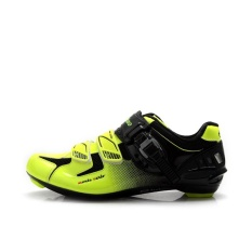 PHP 3.498. Tiebao R1303 Outdoor Athletic Racing Road Cycling Shoes, AutoLock/SelfLock Bike Shoes, SPD/SL/LOOK-KEO Cleated Bicycle ...