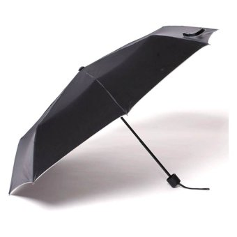 Tokio Windproof Folding Umbrella (Black)