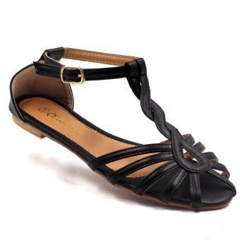 tokkyo shoes womens briony flat sandals black lazada ph