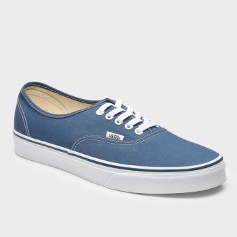 Vans The Authentic Mens Sneakers (Blue)