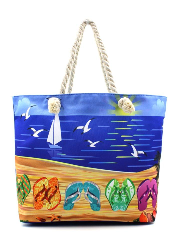 Vintage Paris Summer Flip Flaps Beach Tote Bag | Lazada PH