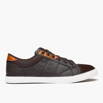 World Balance Mens Tyron Sneakers (Brown)