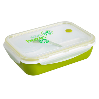 3 1 lunch box kids bento lunch box picnic lunch container green lazada ph. Black Bedroom Furniture Sets. Home Design Ideas