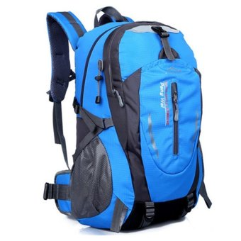 35L Outdoor Backpack for Hiking & Camping (Blue)