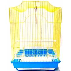 PHP 839. Bird Cage Yellow (49cm x 35cm x 28cm)PHP839. PHP 903. 2PCS 30x26cm Wires Bars Frame Racing Pigeon Entrance Fantail Tumbler Loft Bird Supply ...