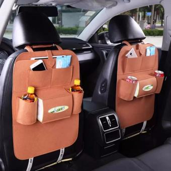 Car Auto Seat Back Multi-Pocket Storage Bag Organizer Holder HangerAccessory