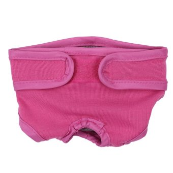 Dog Diaper Physiological Sanitary Menstrual Underwear Pants Pink M- intl