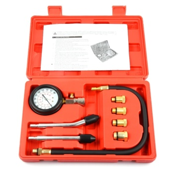 Engine Cylinder Pressure Gauge Diagnostic Tool Compression TesterSet - intl