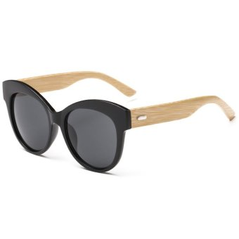 Bamboo Sunglasses Philippines  black wood sunglasses for lazada philippines