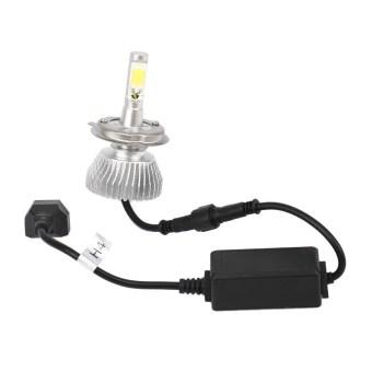 60W 6000LM H4 LED Light Headlight Vehicle Car Hi/Lo Beam Bulb Kit 6000k Whi