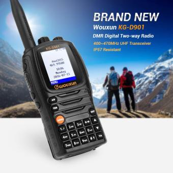 DMR Digital Ham Radio Transceiver Wouxun KG-D901 4W UHF 400-480MHz 1000 channels