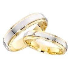 jjj jewelry jade couple wedding ring two toned - Wedding Rings On Sale