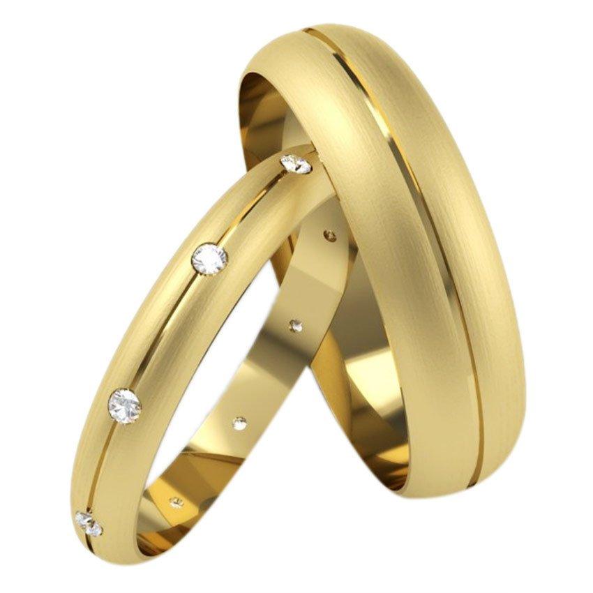 jjj jewelry morgan couple wedding ring gold lazada ph - Wedding Ring Gold