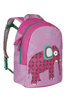 Lassig Wildlife Elephant Backpack (Pink) - picture 2